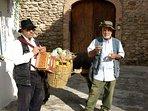 attività folcloristica nel centro storico