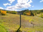 Whether you're watching skiers come down or mountain bikers and hikers adventuring, the views from the deck will...