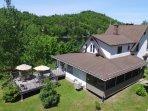 Lake St-Francois-Xavier's Villas - Villa # 3, up to 22 people