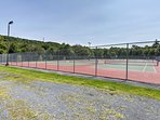 Challenge your companions to a game of tennis at one of 9 different courts.