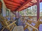 An adventurous getaway awaits you at this 5-bedroom, 3-bath vacation rental home in Lake Arrowhead!