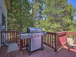 Fire up the grill and have a cookout on the deck!