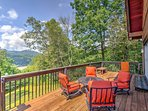 You'll enjoy the best views in Marshall Country from the wraparound porch.