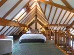Coach House- gallery bedroom