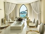 Dining Room with view to Atlantis
