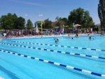 seasonal heated community pool
