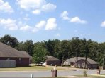 Safe neighborhood, beautiful location and in a secluded subdivision.