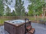 After a day on the mountain, soothe your aching muscles in The Villas at Walton Creek community hot tubs.