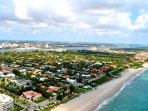 Riviera Beach & Shores Resorts Aerial View