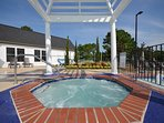 The Historic Powhatan Resort Pool View