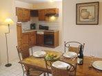 Le Manoir des Deux Amants Kitchen With Dine