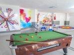 Santa Barbara Golf and Ocean Club Games Room