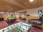 Alpine Club Games Room