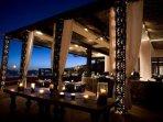 Cabo Azul Resort Exterior Night View