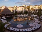 Cabo Azul Resort Exterior with Pool