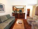 Riviera Oaks Resort Living Area
