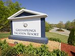 Greensprings Vacation Resort Marquee
