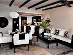 Cabo Azul Resort Living & Dining Room