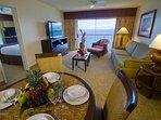 Kaanapali Beach Club Living Area