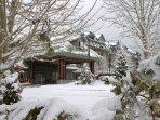 Lake Tahoe Resort Exterior Winter