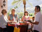 Dining in Palm Springs CA - Palm Canyon Resort