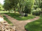 Kohl's Ranch Lodge Walking Area