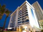 Daytona Beach Regency Exterior Night View