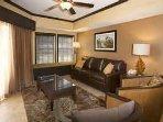 Mystic Dunes Resort & Golf Club Living Area