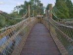 Liki Tiki Village Bridge