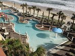The Cove on Ormond Beach Pool View