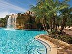 Mystic Dunes Resort & Golf Club Pool Shot of The Resort Waterfall
