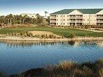 Mystic Dunes Resort & Golf Club Exterior with Lake