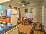 Prepare snacks or large feasts in the fully equipped kitchen!