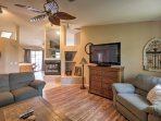 The home is equipped with 2 flat-screen Smart TVs and wireless internet access.