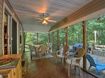Plan your next retreat to this peaceful vacation rental home in Greentown.