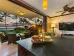 View of Lanai from Living Space