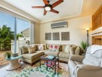 Spacious Living room seating