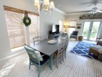 Dining Area Opens to Living Area