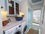 Laundry Room in Entry Hall
