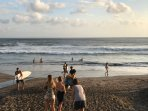 The famous Echo (surfers) Beach is just minutes away. Surf lessons are also available