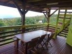 terrasse 1er niveau - salle à manger