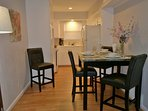 Large Comfortable Dining and Kitchen Area