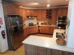The apartment has fully self-catering and well-equipped kitchen