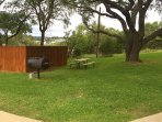 ON SITE BBQ GRILLS AND PICNIC TABLES
