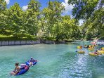 FLOATING THE COMAL RIVER