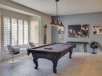Lions Gate Estate - Billiards Room