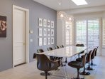 Large Interior Dining Space Seats 10