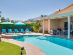 Large free form pool
