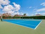 Tennis Courts a few blocks away