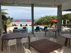 Private Beach Club for Residents with Pool, just 60 feet from house.